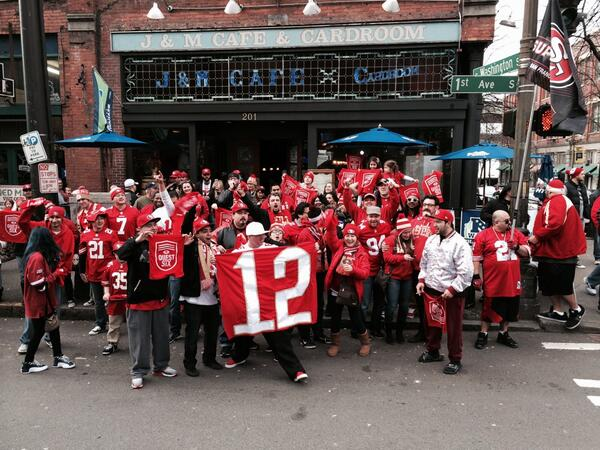 Yep, this is happening...in Seattle. #QuestForSix http://t.co/p3PEhmKPx4