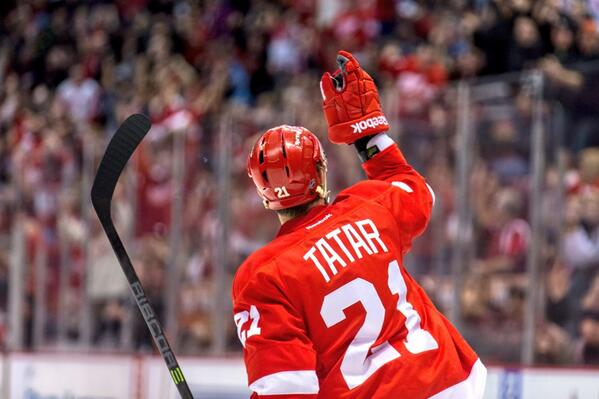 Image result for tomas tatar red wings