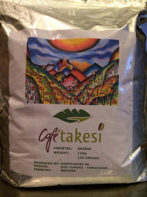 これは凄いことになりそうだ!! アグロ・タケシ・ゲイシャ…このようなコーヒーは人生で何度出会えるだろうか…ブランチコーヒーも極少量のみ入荷予定となっております。 http://t.co/ePweCo3ZVO