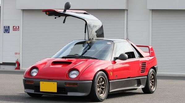 test ツイッターメディア - オートザム AZ-1 [PG6SA型] ABCトリオの一台である。 「究極のハンドリングマシーン」と銘打たれた車だ。 全高は日本車の中で最も低い。 セラはバタフライドアなので、正式なガルウィング車としてはAZ-1が国内唯一である。 https://t.co/qf4ZRvZr6H