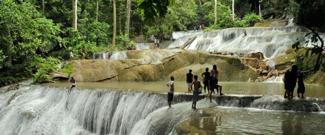 Moramo Waterfall, South Konawe, South East Sulawesi. http://t.co/CJdAktPnYv