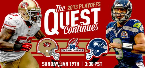 Thumbnail for #49ers vs. #Seahawks NFC Championship preview