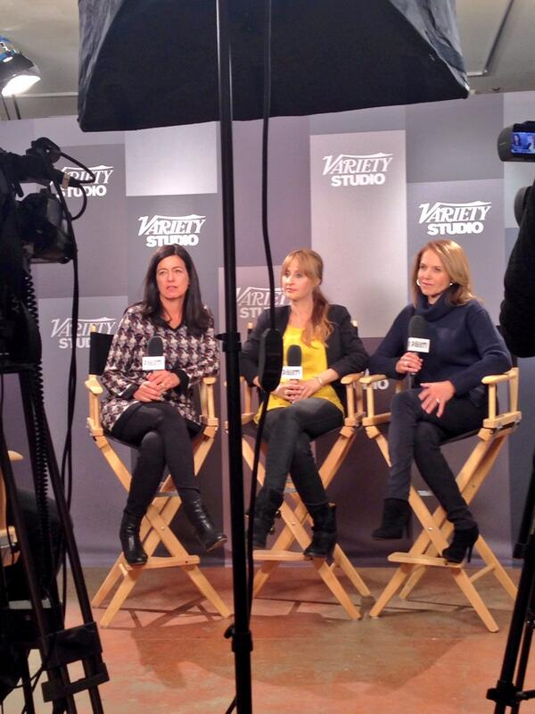 Behind the scenes at our @Variety Interview! @fedupmovie @Laurie_David @stephsoechtig #Sundance @katiecouric http://t.co/c4pgwtdYqS