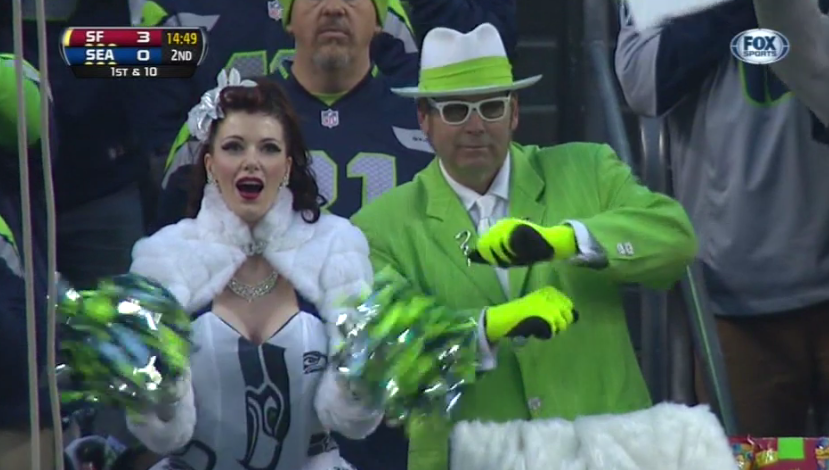 Twitter / BuzzFeedSports: Party on, Seahawks fans! ...