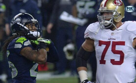 Twitter / LBSports: Richard Sherman gives the choke ...