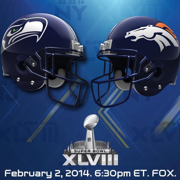 Seattle @Seahawks. Denver @Broncos. You ready? #SB48 http://t.co/eYTIzyGdcS