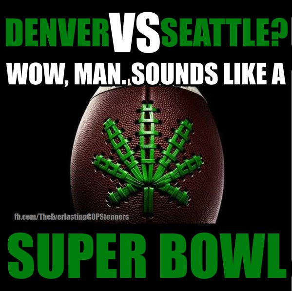 First Bong Bowl? Matchup highlights NFL's pot stance