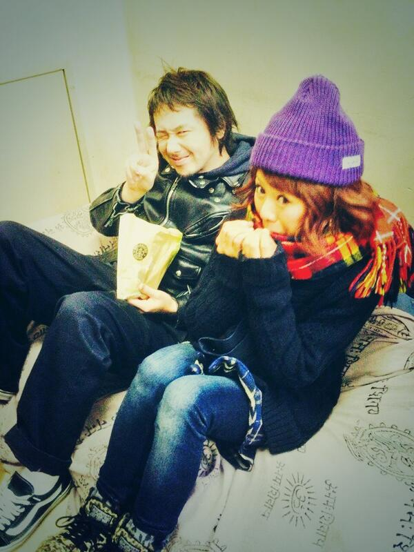Kenさんとのショット☆ 宝物です(*´ω`*) http://t.co/EbHn2UMiyE