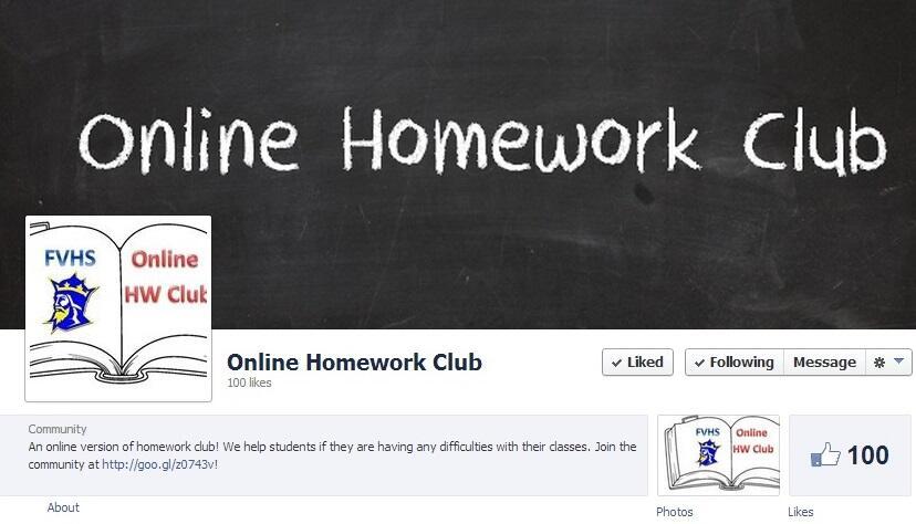 fvhs homework club