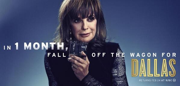 We are less than ONE MONTH away from the return of #DallasTNT! RT if you're excited to see the Ewings back in action! http://t.co/j24XOvVqAB