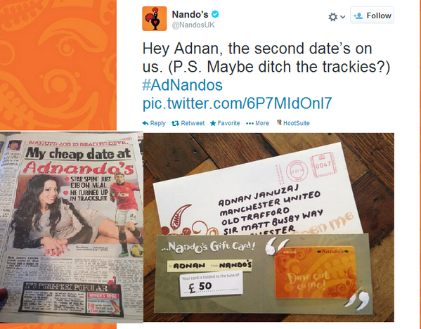 For all those real-time marketing haters out there, have you seen this greatness today? CC: @Nandos http://t.co/xmk5GjETeh