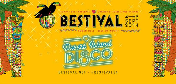 Our #Bestival14 theme: Desert Island Disco http://t.co/djD2MO92r6