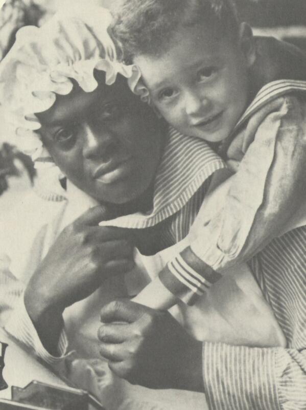 Emma Hunt in 1915. She cared for Bob Jones Jr. #MLKDay2014 http://t.co/KabzVZ5Ijx