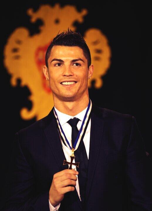 He cant stop winning awards! Cristiano Ronaldo named Grand Officer of the order of Prince Henry