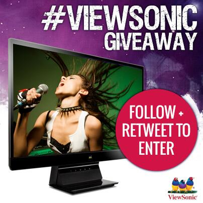 "COMPETITION TIME! Follow and RT for a chance to #WIN a 22"" Full HD IPS Display worth £110! #ViewSonicGiveaway http://t.co/Kht6K7IFoY"