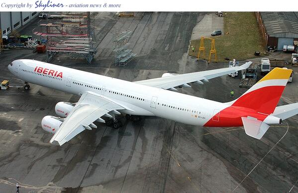 New Livery And Image For Iberia Aviation24 Be