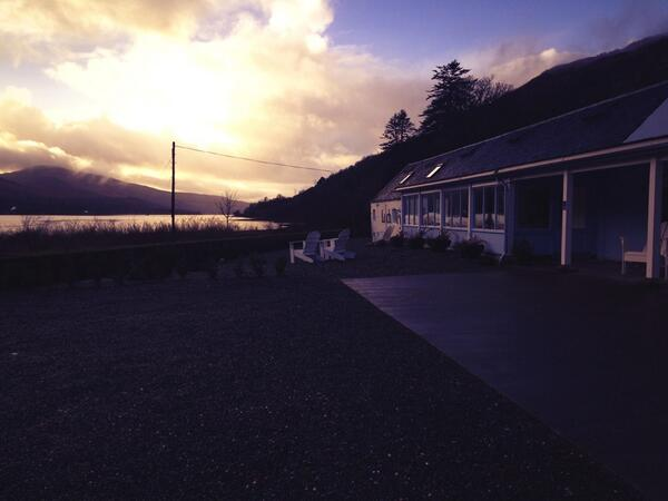 Thank you @lochfyneoysters for our amazing trip to the loch and our meal and tours. We had a great time! C u soon!