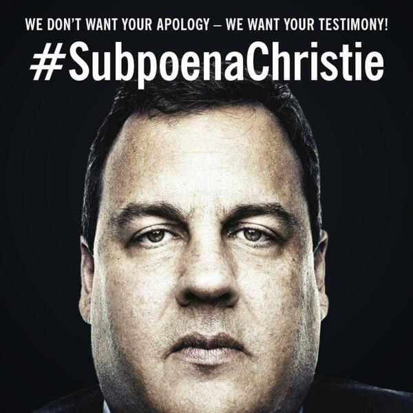 #SubpoenaChristie http://t.co/tHnfGk3J3N