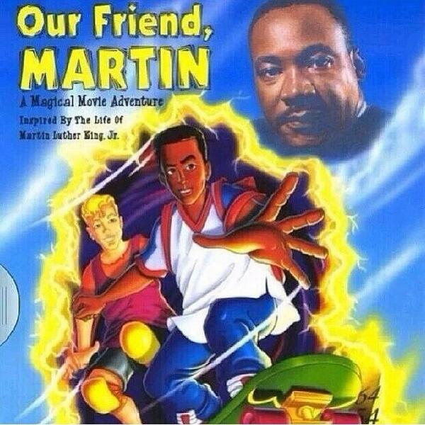 "I used to love watching ""our friend Martin"" in elementary school! do y'all remember that? #MLK http://t.co/c2oI9BkK6M"
