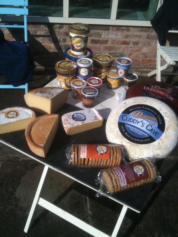 A range of premium ice creams & artisan cheeses made on our Northumberland farm @doddingtondairy #northeasthour http://t.co/nbz6koZRya