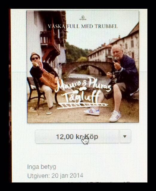 """Nu är den här folks. """"Väska full med trubbel"""". Nya låten från mitt och Pluras kommande album! http://t.co/Oddarbbyur"""