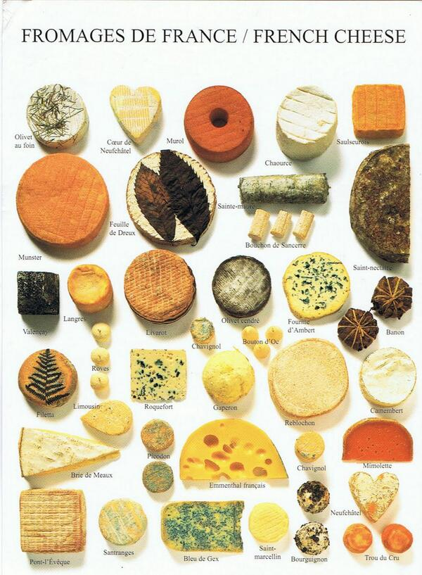 Today, Jan 20, is National #Cheese Lover's day! We have many favorite French cheeses—what are yours? #fromage #yum http://t.co/1pruyE2vgl