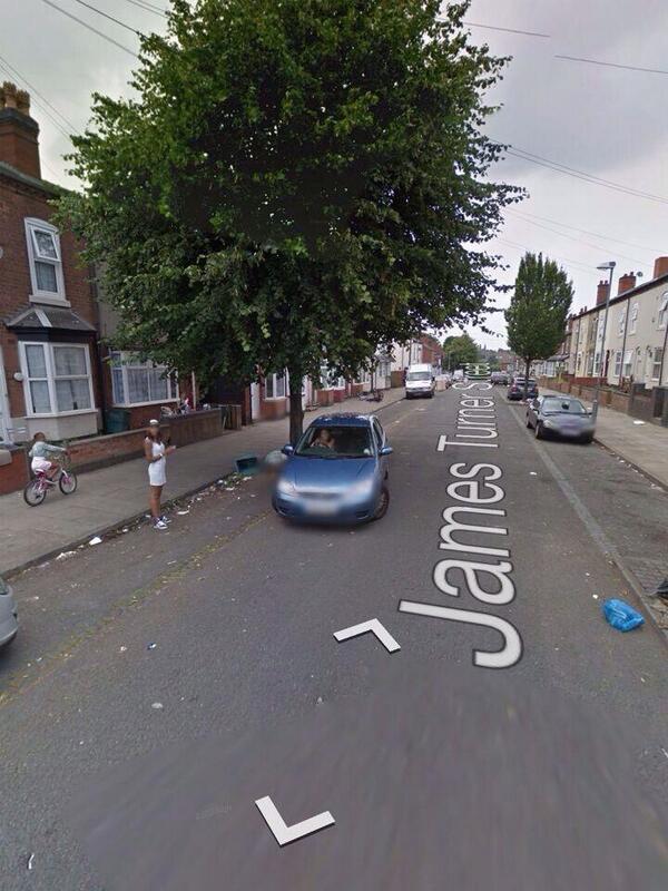 Black Dee is always standing on the street, even on Google Maps #BenefitsStreet http://t.co/Kr5qkOy2ma