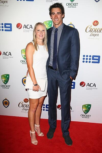 Mitchell Starc Bio Wiki Net Worth Married Wife Age Height
