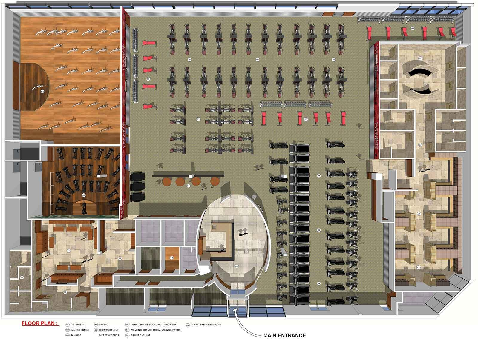Goodlife fitness on twitter take a look at the floor for Gym floor plan examples