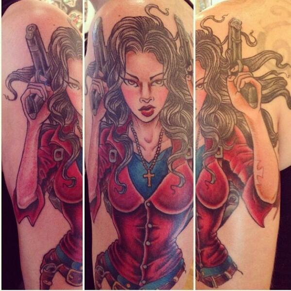 Anita blake tattoo