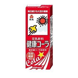 コーラ味の豆乳。怖いけどちょっと飲んでみたいな。3月3日発売。 http://t.co/sWNRV4af1N http://t.co/ngfhgF6cjB