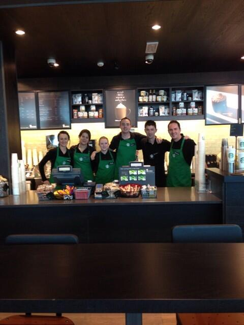 Meet your new @StarbucksIE Mahon Point Cork Team!  #nowopen #atyourservice http://t.co/2l1Z6LLfZU
