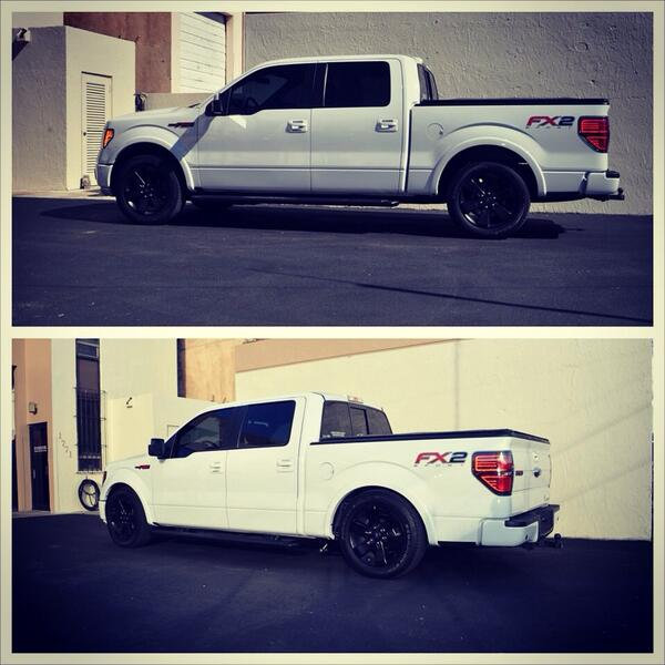 Went from level to low. Added cal tracs and some other mods. #makecoboost #mak #makperformance #fordtrucks