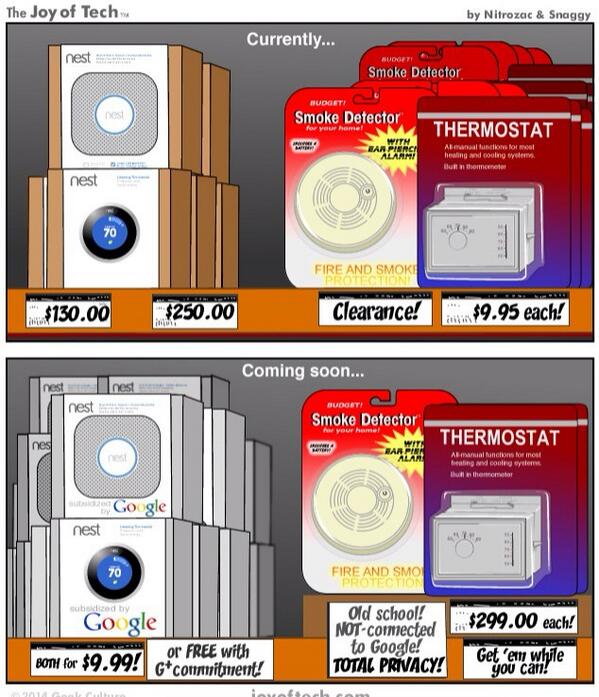 Hilarious. The thermostat market before and after Nest. http://t.co/Mc4P1x7MLl