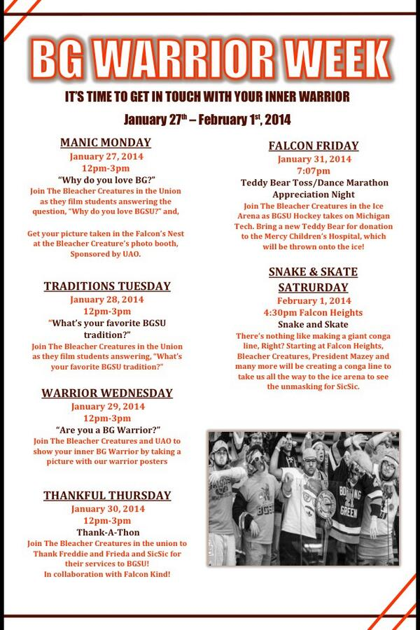 Here is the official schedule of our events! Retweet this to help spread the word! http://t.co/Ws12skNaRC