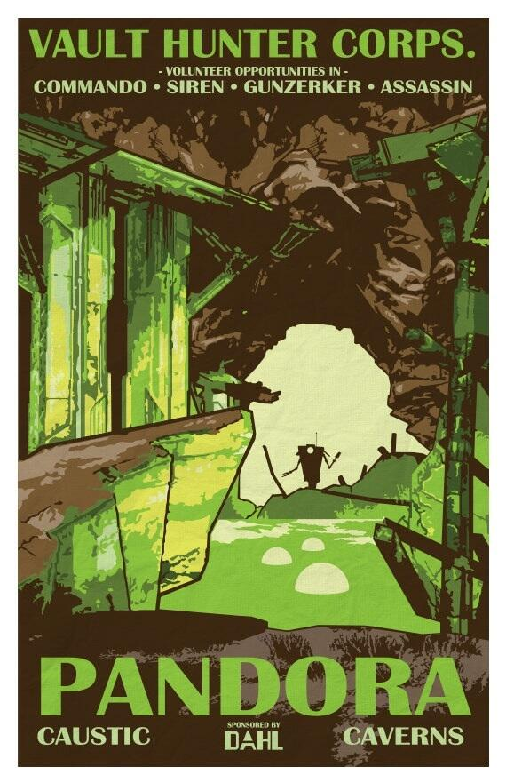 Border Lands, VideoGames