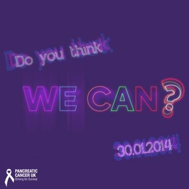 Let's start the BIGGEST EVER conversation about Pancreatic Cancer, DO YOU THINK WE CAN? @AATC2013  Please RT for YES! http://t.co/FT0qnk4UyC