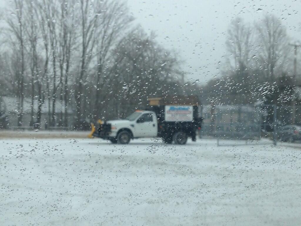 Twitter / tjdelsanto: Getting snow-covered in Cranston ...