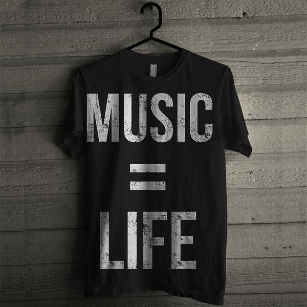 MUSIC = LIFE! Snag this tee here: http://t.co/2HVwXExsKP http://t.co/iglvgo1thO