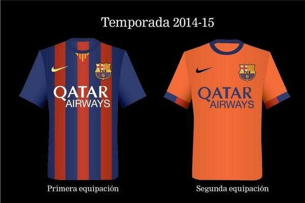 Se filtran las camisetas del Barcelona para la temporada 2014- 2015   ⋆ GOL  digital ⋆ 841faa052d776