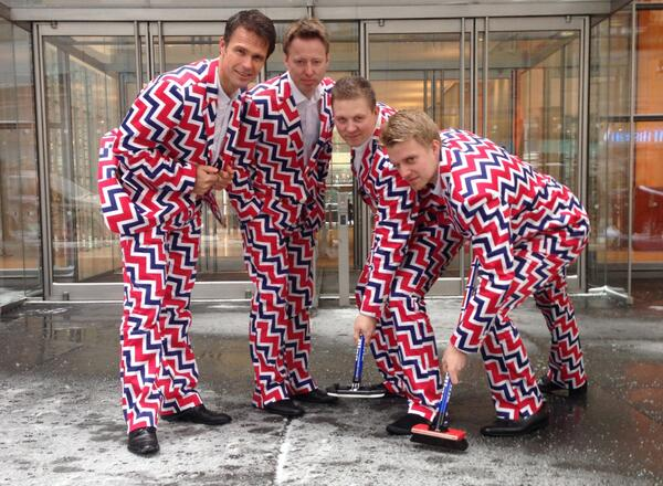 """""""@SportsCenter: Norway's curling team has AMAZING uniforms for the Winter Olympics. (via @AP_Images) http://t.co/GtfWR5MIl3"""" love!!"""