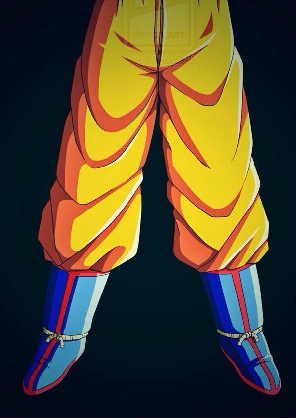 """Goku look tight so idgaf""""@jaxxthagod"""