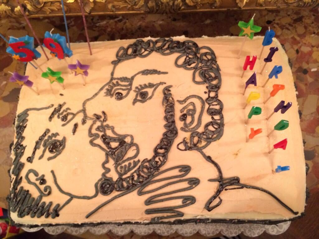 Jeff Koons On Twitter My Picasso Kiss Birthday Cake Baked By