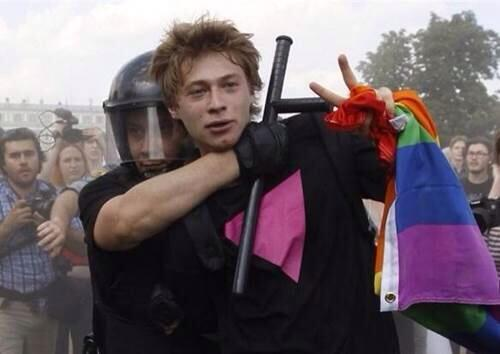 """""""@QueerNationNY: #CheersToSochi. #LGBT people of #Russia--NOT Lovin' It. http://t.co/KimDfH6aAx"""" @McDonalds we won't forget ur part n this."""