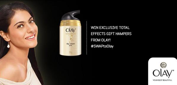 Tell us how your Olay experience has been to win exciting gift hampers! #SWAPtoOlay http://t.co/RWKGgV6Jwz