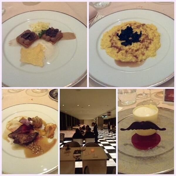 Ecco i piatti di ieri sera a base di #birra. Posto fantastico e calda accoglienza!  #birramorettiinabitodasera http://t.co/Ynd991vAjx