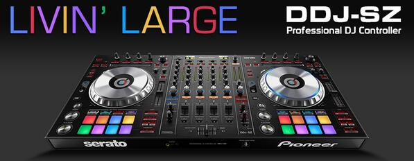 Introducing the @PioneerDJ #DDJSZ flagship professional controller for #SeratoDJ. - http://t.co/0eNIk0XMjx http://t.co/7WjAzFkCtA