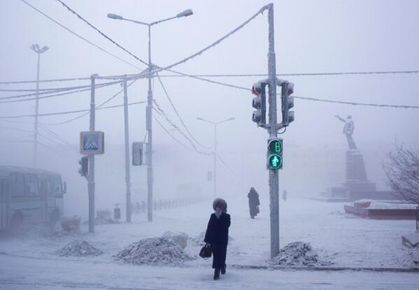 The Guardian On Twitter Coldest City In The World Yakutsk Locals
