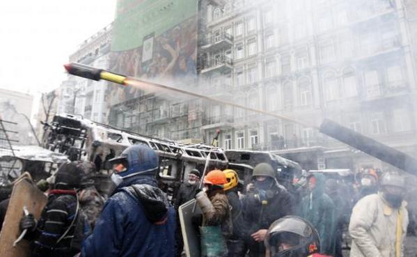":D ""@nycjim: Protesters fire ""pyrotechnic pistol"" at #Kiev police. @Reuters photo. http://t.co/PhPyYlbXIP http://t.co/VzavDSoulL"""