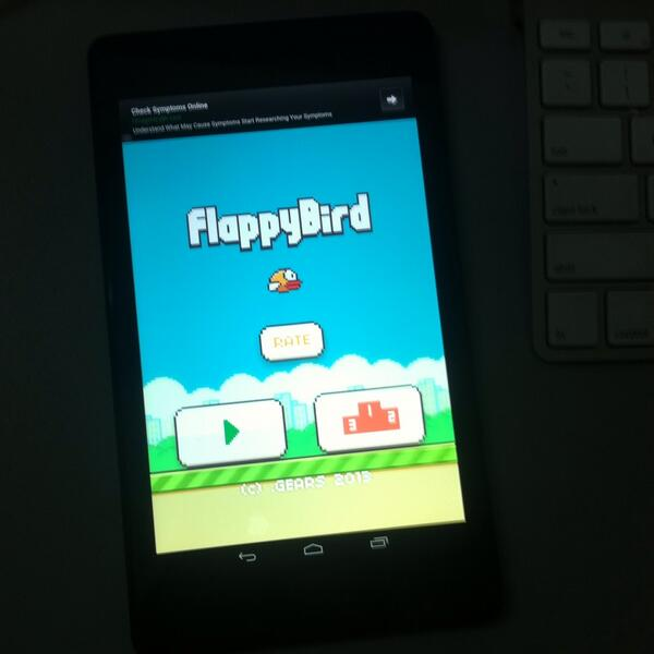 is Flappy Bird ends?